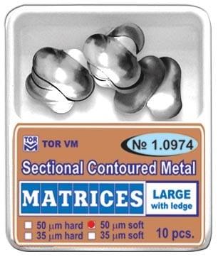 Секторни метални матрици - големи с езиче.  Кат.N: 1.0974