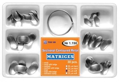 Система секторни матрици 30бр плюс пръстен