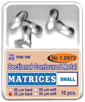 Секторни метални матрици - малки. Кат.N: 1.0972