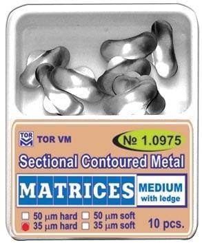 Секторни метални матрици - средни с езиче.  Кат.N: 1.0975