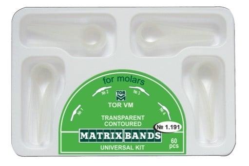 Прозрачни матрици за молари