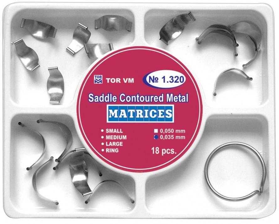 Матрична система 18 бр. с пръстен