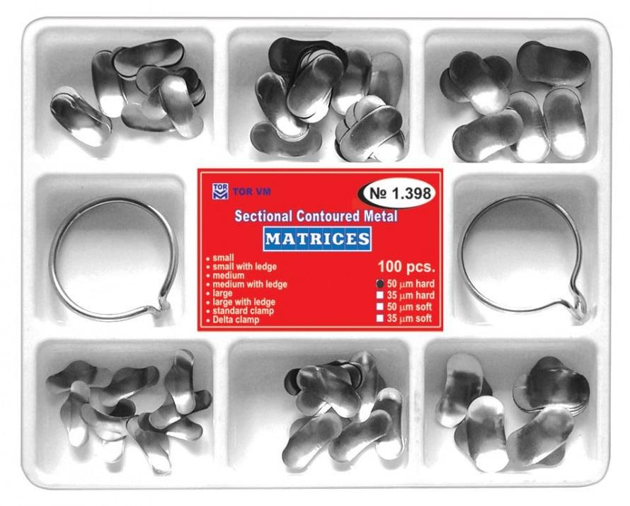 Система секторни матрици 100бр плюс 2 пръстена